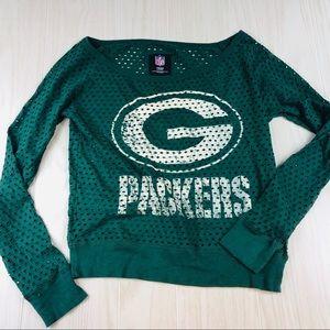 Mesh GREEN BAY PACKERS shirt size small